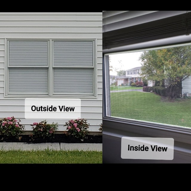 VIBLIND™ : One-Way Vision Perforated Window Film