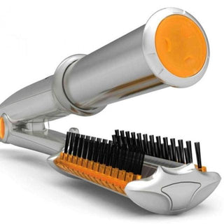 Rotating Curling & Straightening Iron