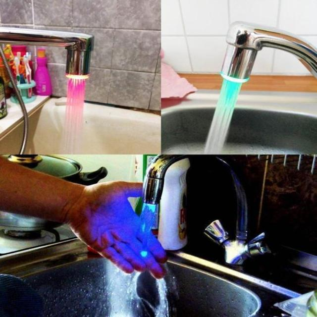 LEDWATER™ : LED Water Faucet Temperature Sensor