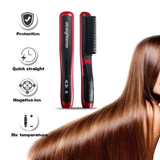 LISSY™ : Electric Hair Straightener Brush
