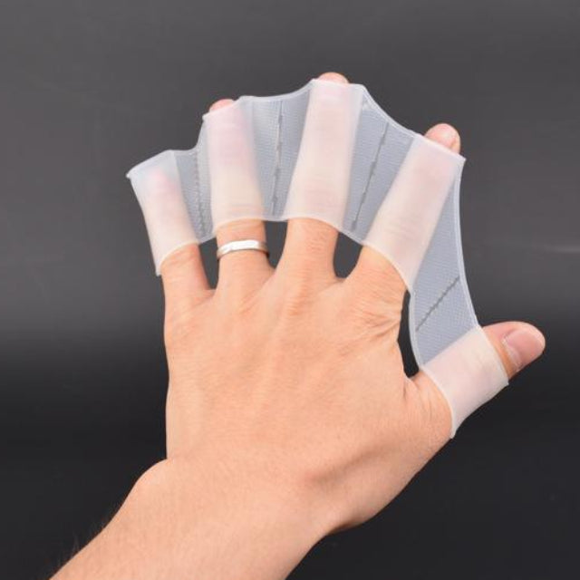 SWIMY™ : Webbed Swimming Silicone Gloves