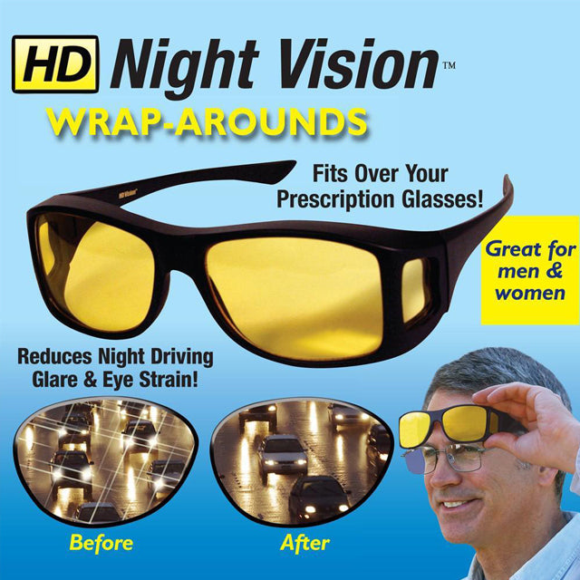 DRIVISION™ : HD Night/Day Vision Driving Glasses