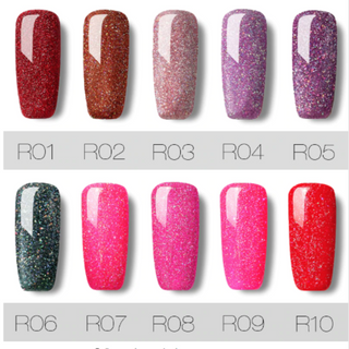 ROSANAIL™ : Sparkly Long-lasting Gel Nail polish