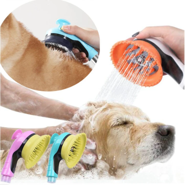 PETSHO™ : Pet Shower Head/Massage Brush