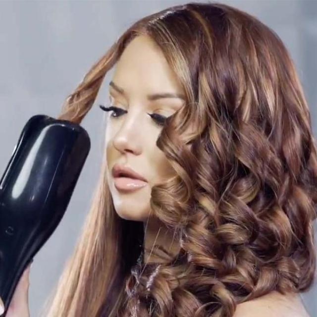 SPINCURL™ : Air Spin n Curl Ceramic Rotating Hair Curler