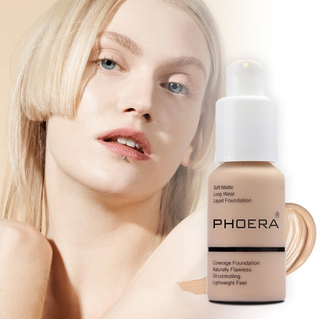 PHOERA™ : Soft Matte Full Coverage Liquid Foundation