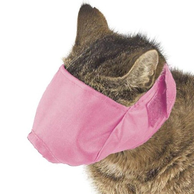 MASCAT™ : Breathable Soft Cat Muzzle
