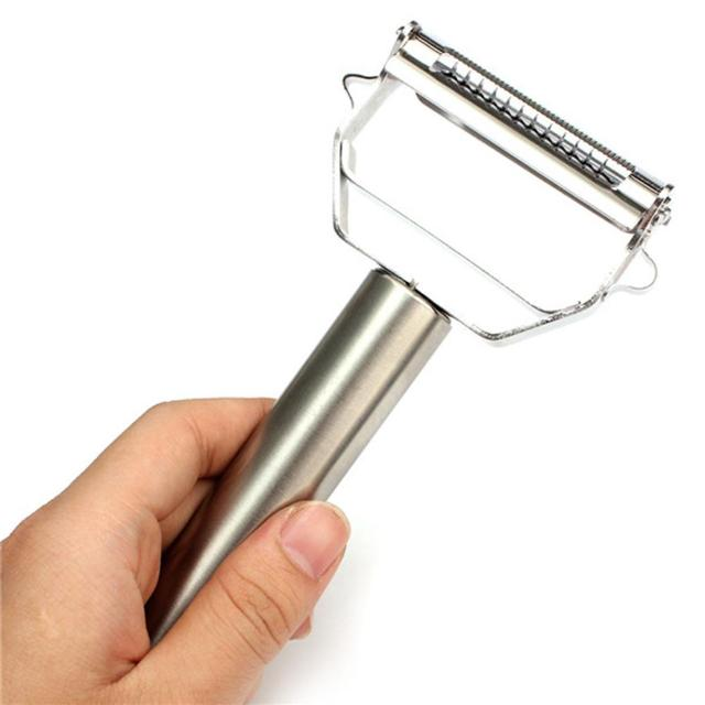 PEELIT™ : Multifunction Stainless Steel Julienne Peeler