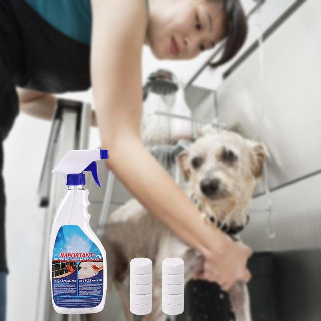 SCLEAN™ : Multifunctional Effervescent Spray Cleaner