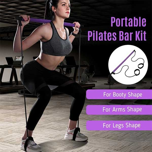 TONFIT™: Portable Pilates Bar Kit