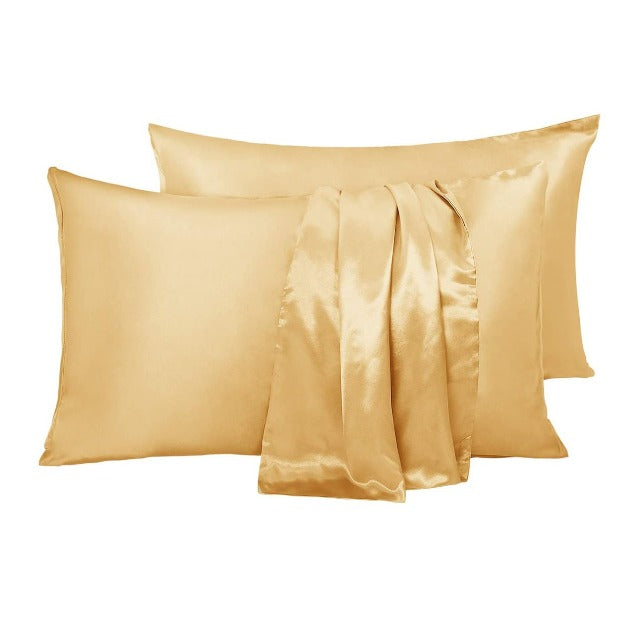 SILKY™ :  The Perfect Softest Pillowcase - 100% Mulberry Silk