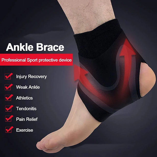 BRANKL™: Adjustable Elastic Ankle Brace