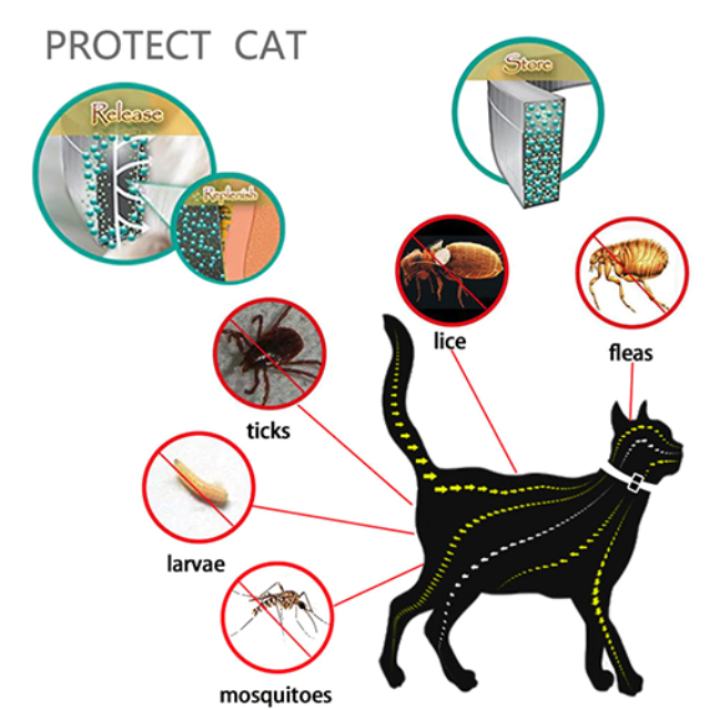 Flea & Tick Protective Pet Collar