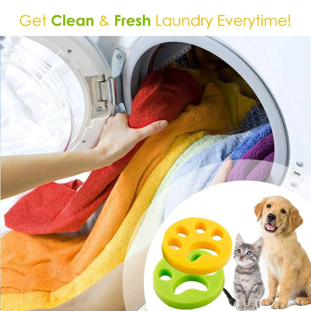 FURFREE™ : Laundry Pet Fur Remover (2pcs)