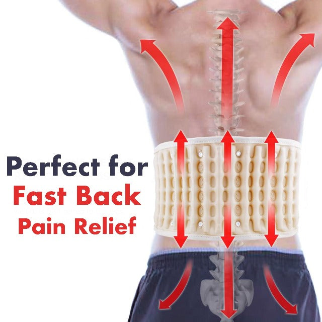 BACKLIEF™ : Decompression Inflatable Back Belt To Relieve Lower Back Pain