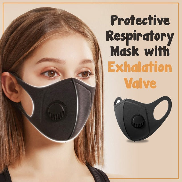 MASPUR™ : Protective Respiratory Mask with Exhalation Valve