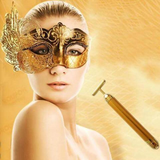 GOLDLIFTER™ : 24k Gold Face Lifting Roller Massager