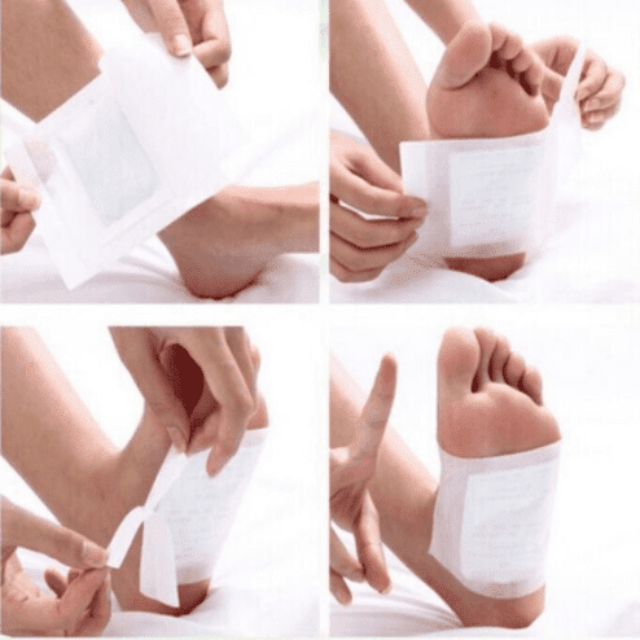 FOOTPAD™ : Premium Detox Feet Pads (Set of 10)