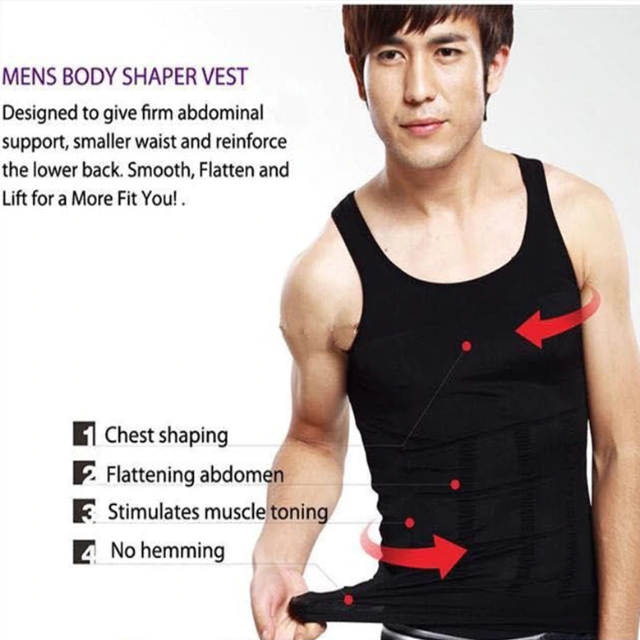 SLIMMEN™ : Men's Slimming Under Shirt