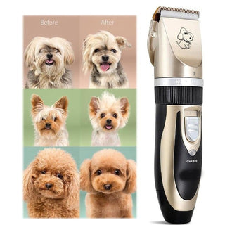 GROOMY™ : Cordless Pet Hair Clipper Set