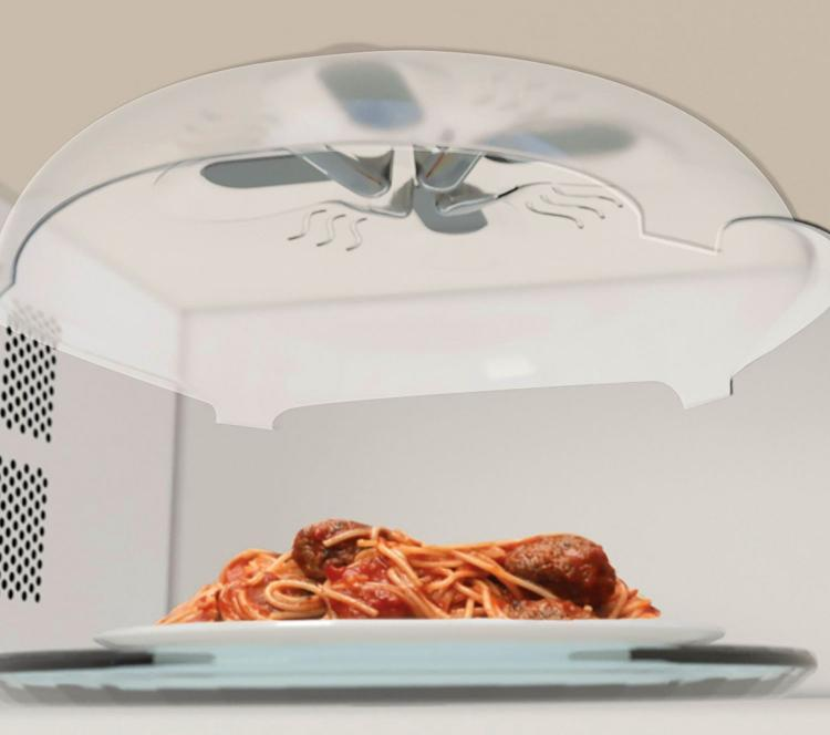 COVEREL ™ : Magnetic Microwave Splatter Lid