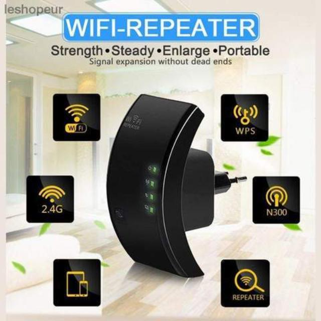 AMPYL™ : Wireless Wi-Fi Extender