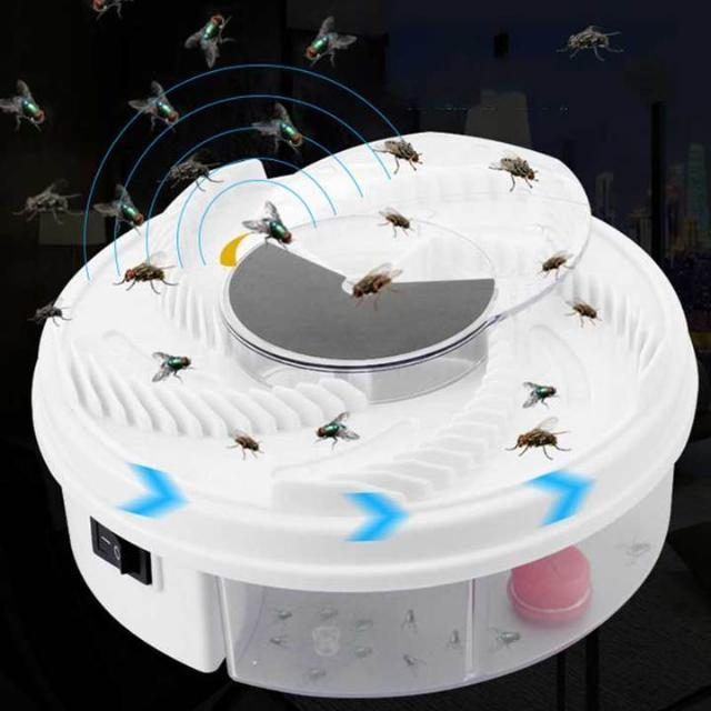 The Electric Fly Trap Device