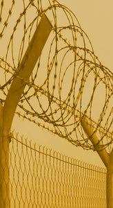 Image of fence with barbed wire #preppers #preparedness #emergency #disaster #homesteader #minimalist