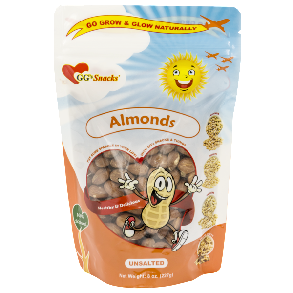 GG's Almonds 8oz Bag