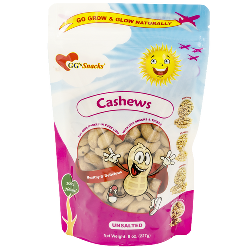 GG's Cashews 8oz Bag