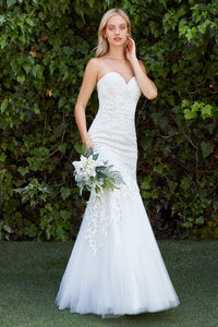 Fitted Sweetheart Gown - KC1701