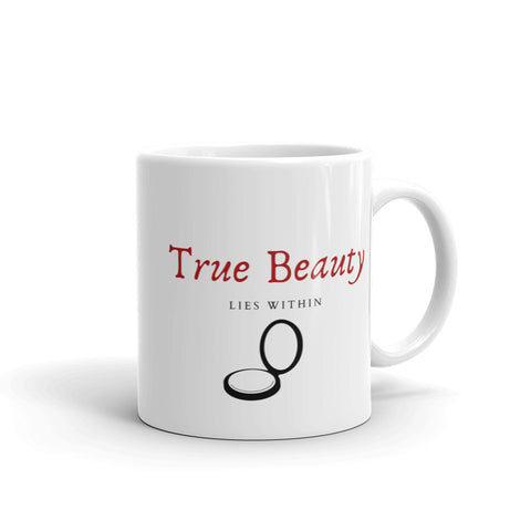 True Beauty White Mug
