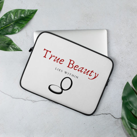 True Beauty Laptop Sleeve