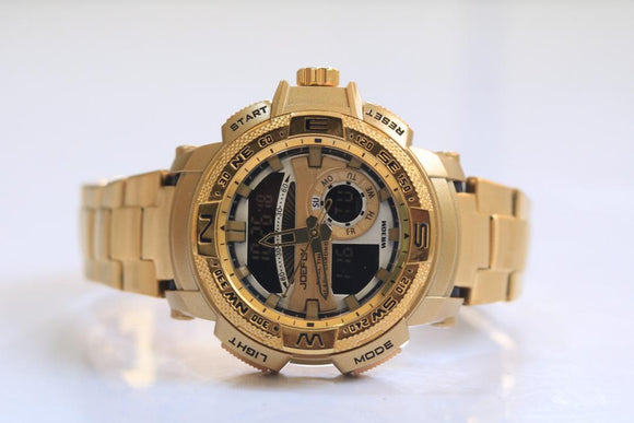 JOEFOX - Gold Plated Watch