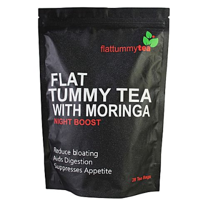 FLAT TUMMY TEA WITH MORINGA