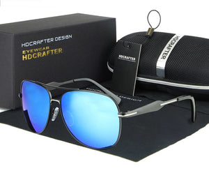POLARIZED SUNGLASSES - BLUE