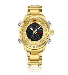 Naviforce Gold Watch