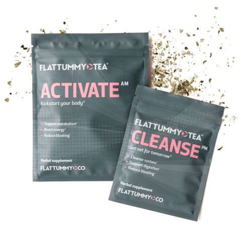 FlatTummy Tea Activate & Cleanse