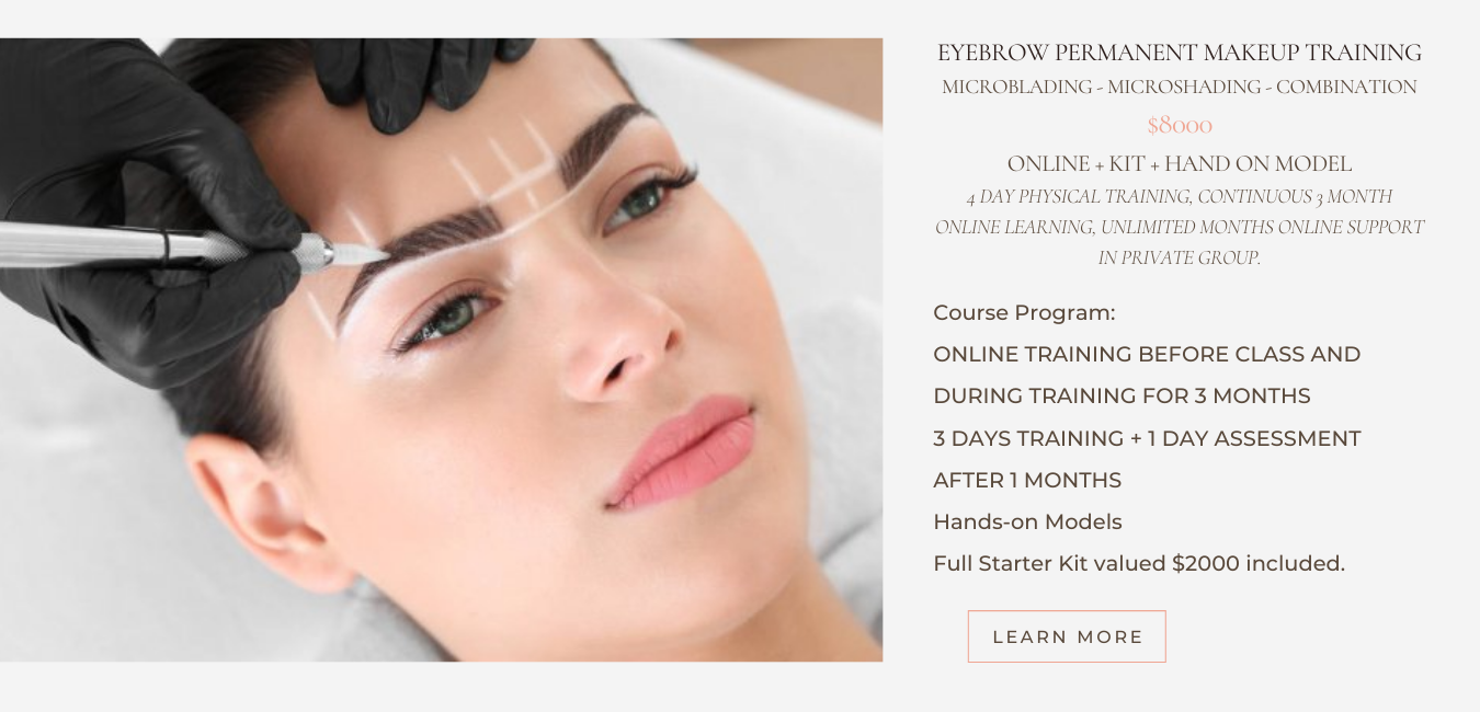 brow total course
