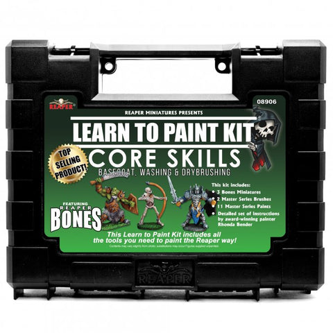 Reaper Master Series Learn to Paint Kit: Core Skills