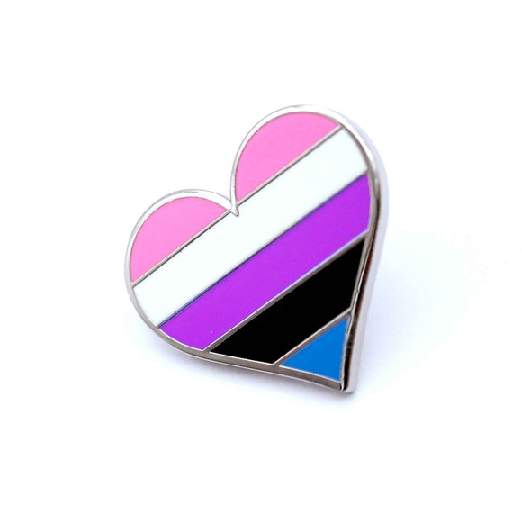 Gender Fluid Pride Enamel Pin
