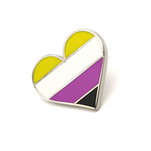 Non-Binary Pride Enamel Pin
