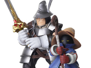 Final Fantasy IX: Vivi Ornitier and Adelbert Steiner