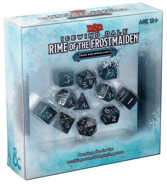Rime of the Frostmaiden Dice Set