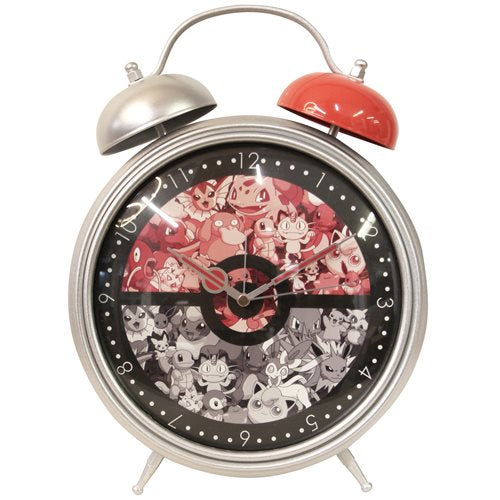 Pokemon Twin Bell Alarm Clock