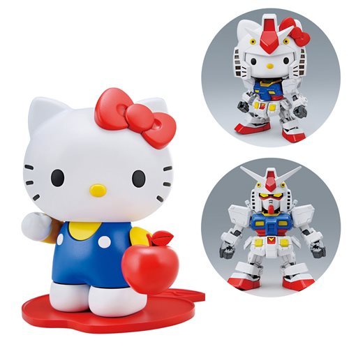 Gundam Hello Kitty & RX-78-2 SD-EX Crossover
