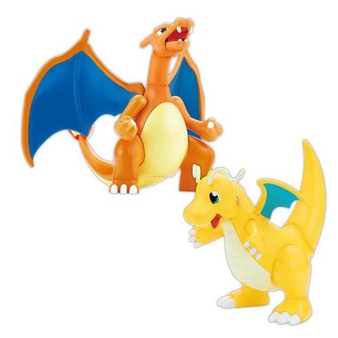 Pokemon: Charizard & Dragonite