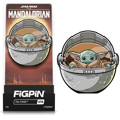 The Mandalorian: Grogu in Pod FiGPiN