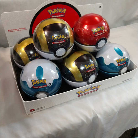 PKMN Poke Ball Tin Wave 4