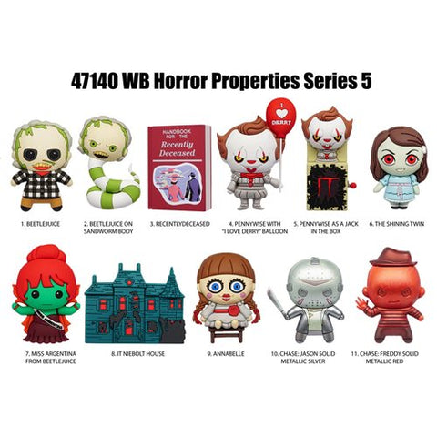 Horror: Bag Clip Blind Box Series V